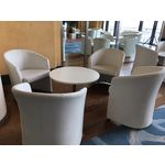 Fauteuil Club Blanc (photo 3)